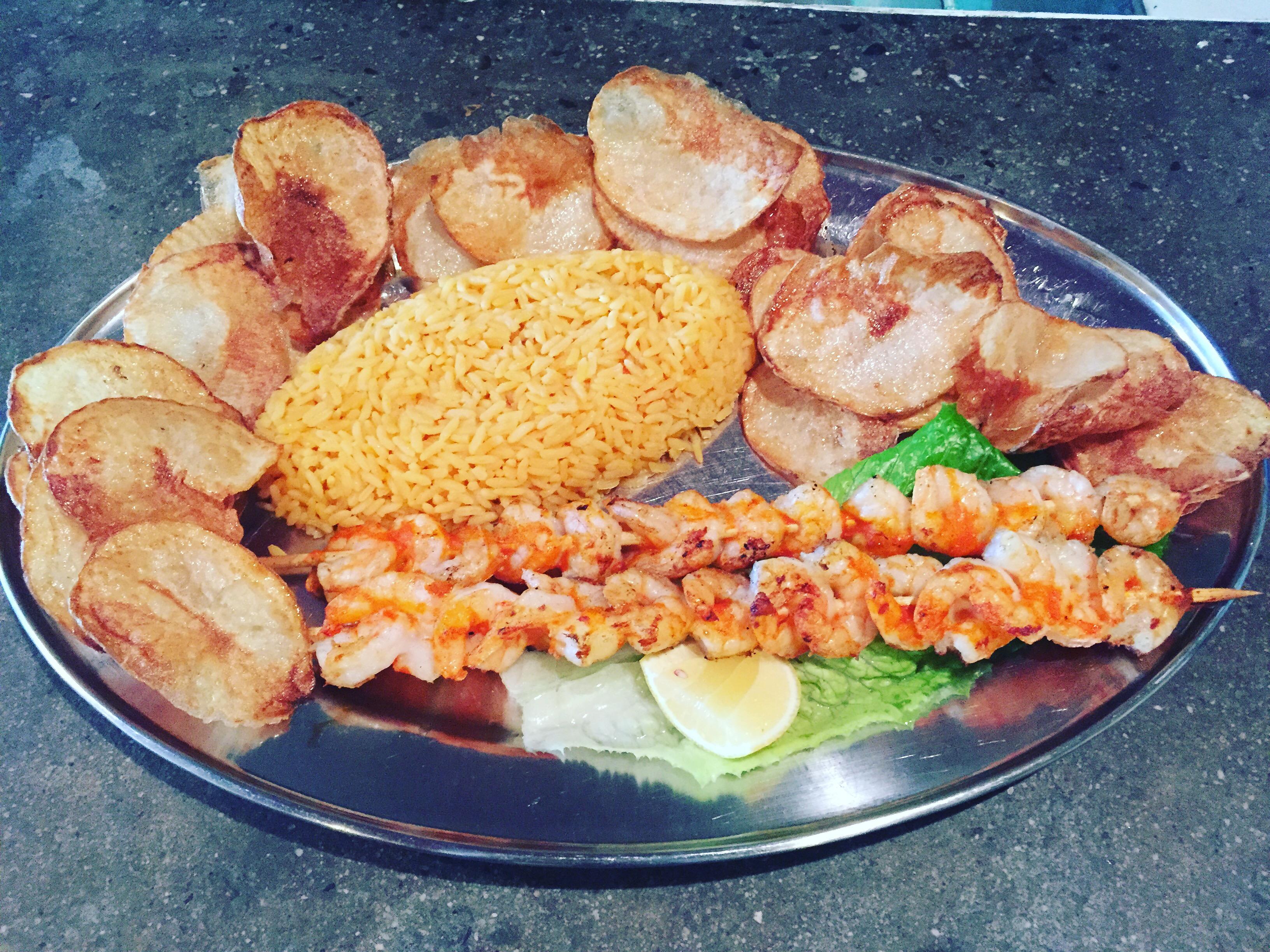 Grilled Shrimp Shish-Kabobs Image