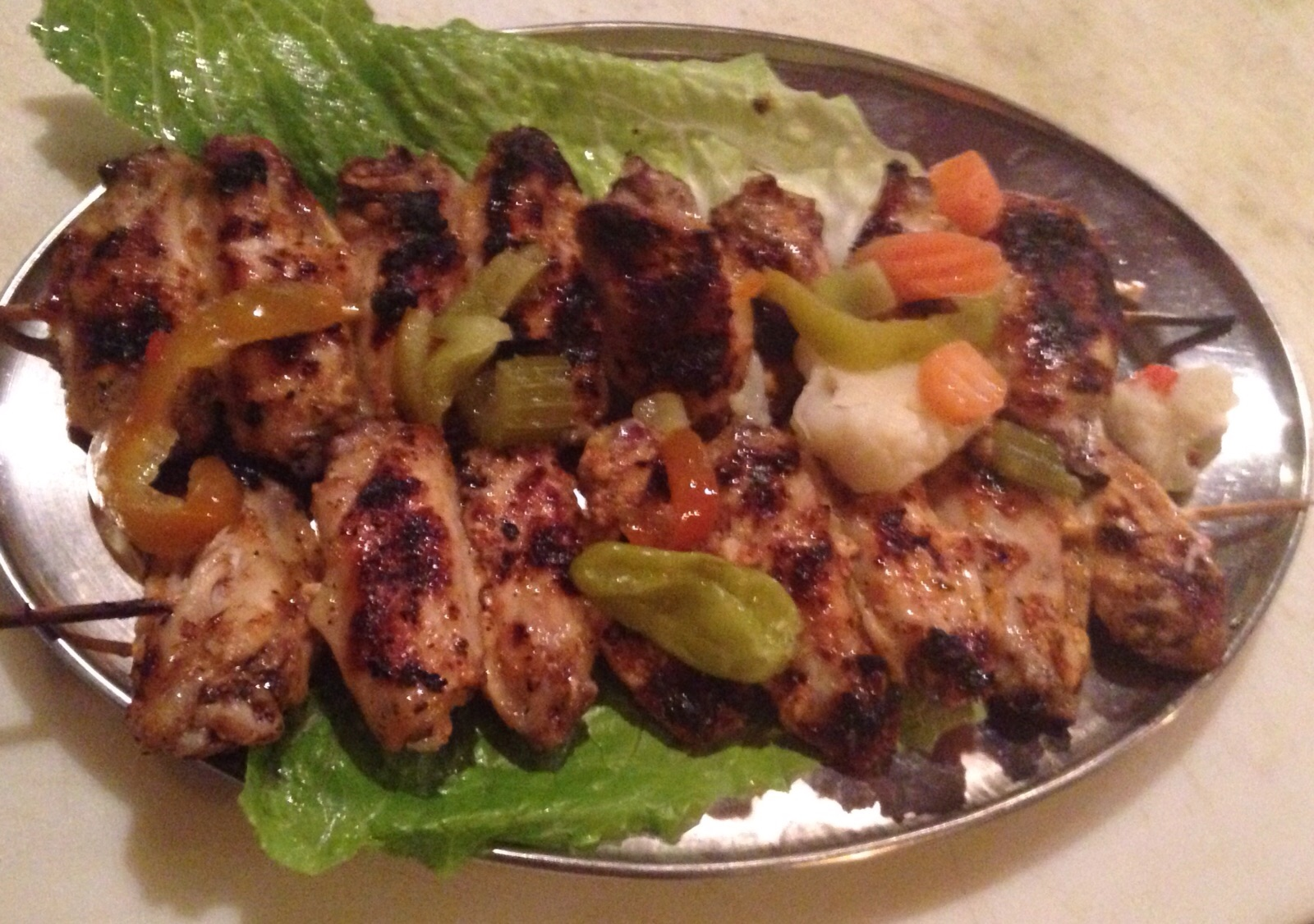 Grilled Wings Kabobs