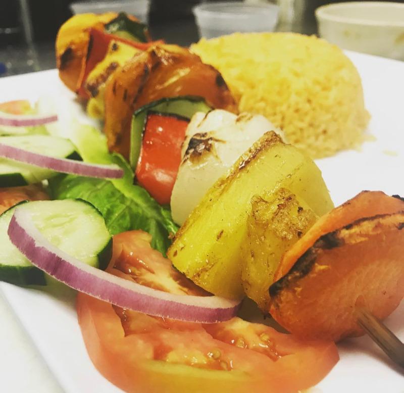 Vegetarian Shish-Kabobs Image
