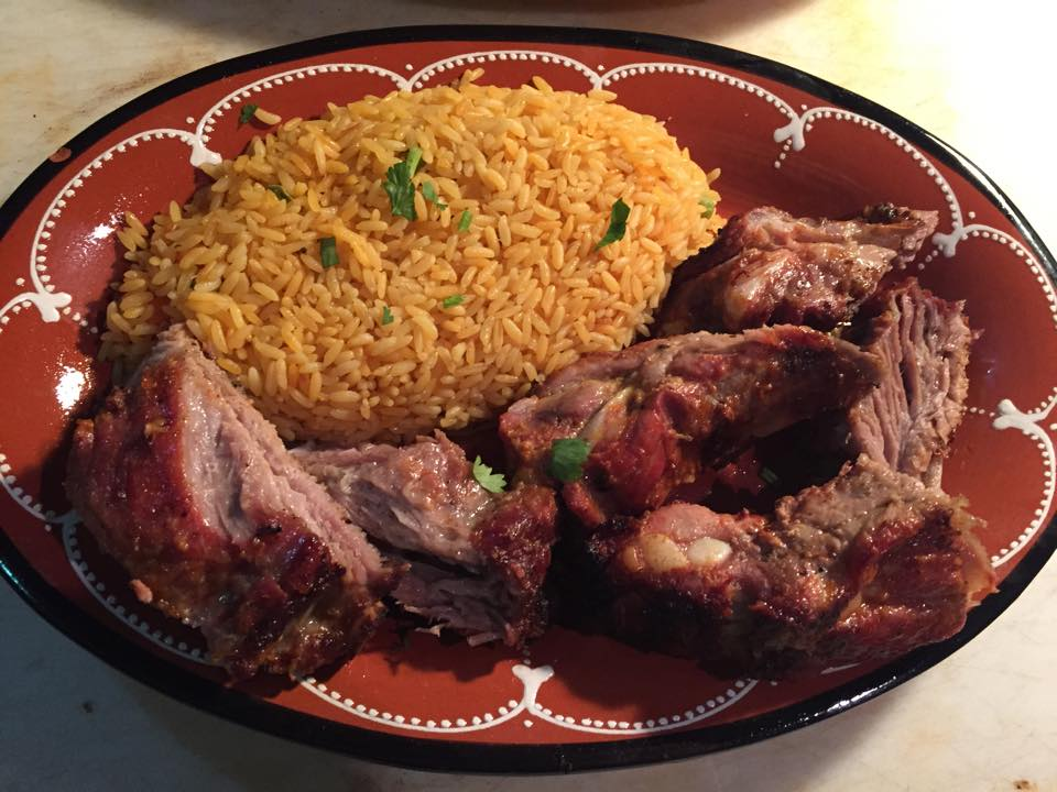 Barbeque Pork Ribs Image