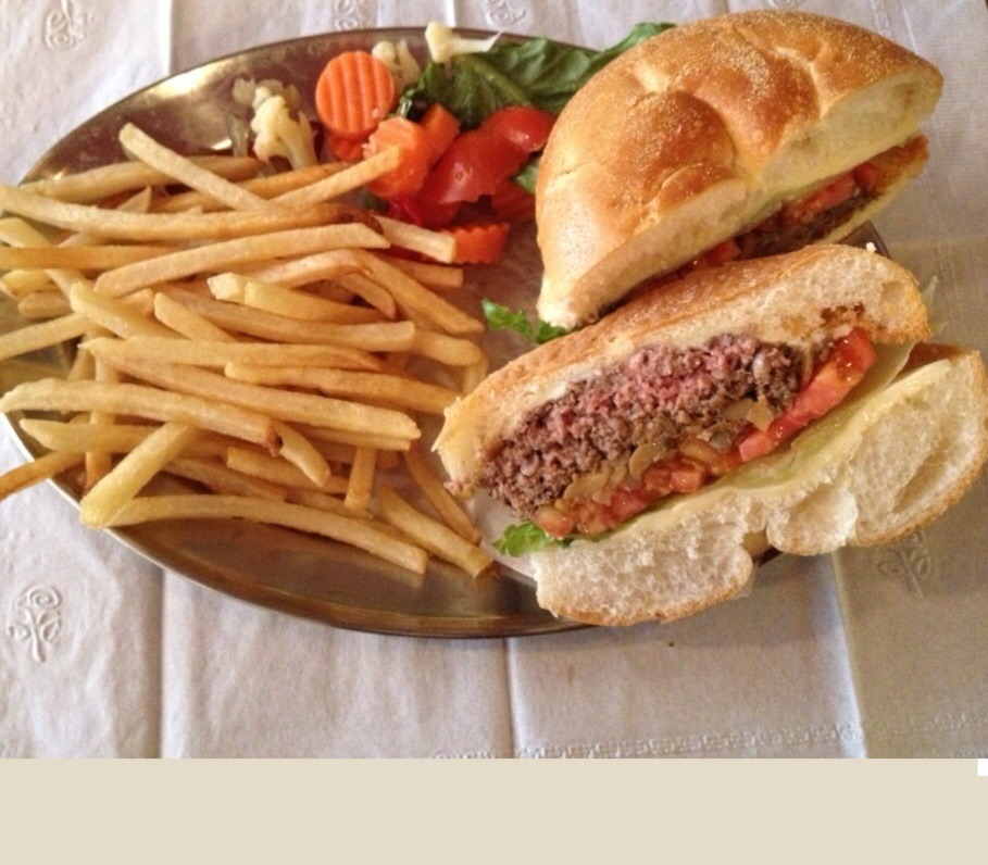 Plain Hamburger Image