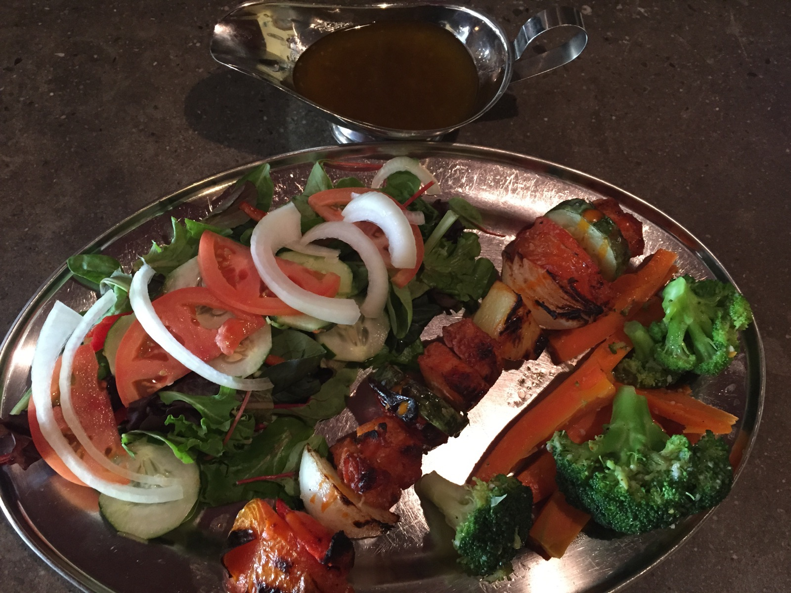 Vegetarian Shish-Kabobs