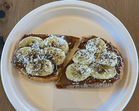 Almond Butter Toast Image