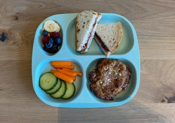 Kids Meal - Almond Butter and Jelly Sandwich Image
