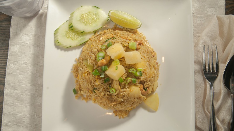 E-18 Pineapple Fried Rice Image