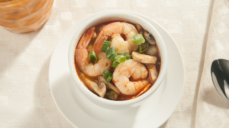 S-1 Tom Yum Shrimp Soup