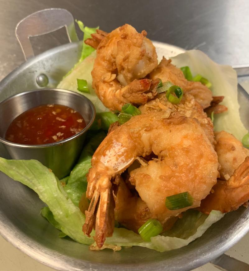 A-14 Fried Garlic Shrimp Image