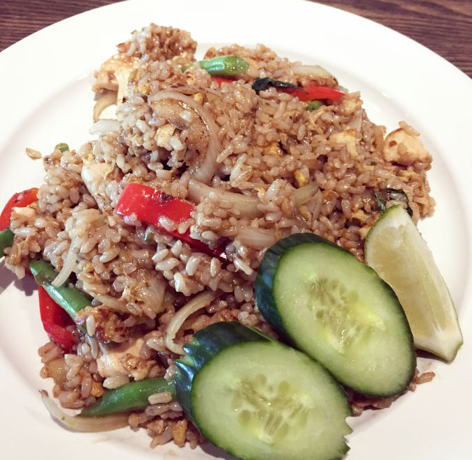E-7 Basil Fried Rice Image