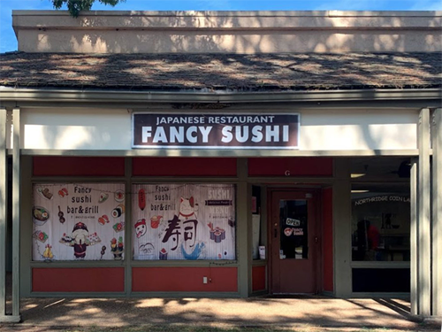 Fancy Sushi Store Front Image