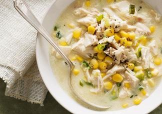 Non Vegetarian Chicken Sweet Corn Soup Image