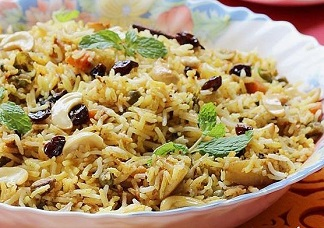 Paradise Vegetable Dum Biryani