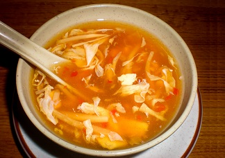 Vegetarian Hot & Sour Soup Image