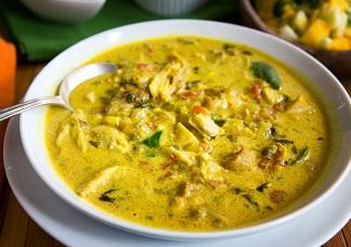 Vegetarian Mulligatawny Soup Image