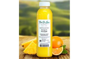 Orange & Pineapple Image