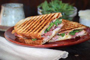 Ham & Cheese Panini Image