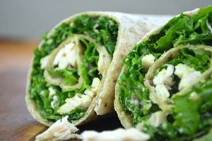 Caesar Salad Wrap Image