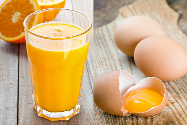 Oj & Raw Egg Image