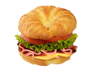 Cold-cut Turkey Croissant Image