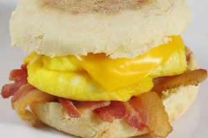 Bacon & Egg English Muffin Image