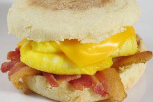 Bacon & Egg English Muffin Image