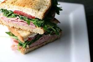 Black Forest Ham Sandwich Image