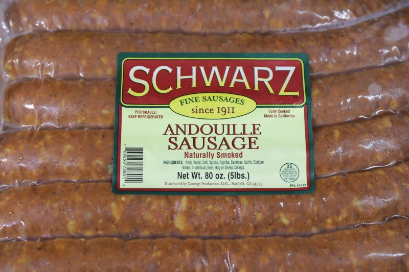 Andouille Sausage Image