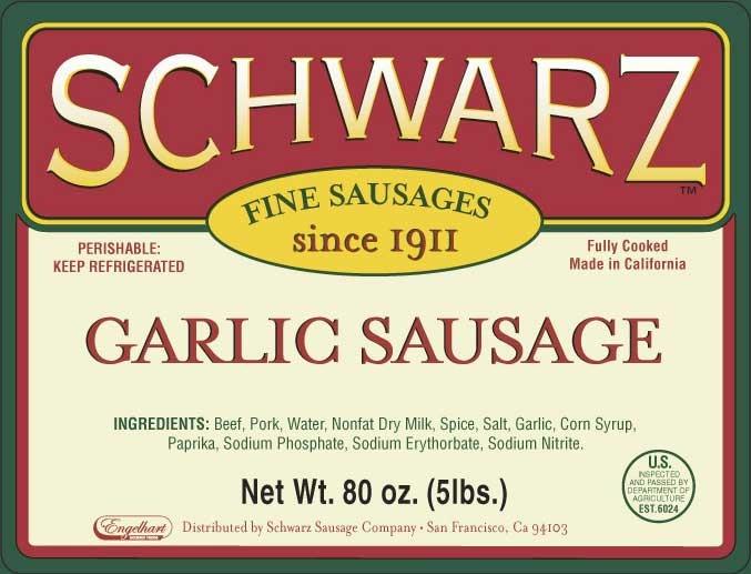 Garlic Sausage Image