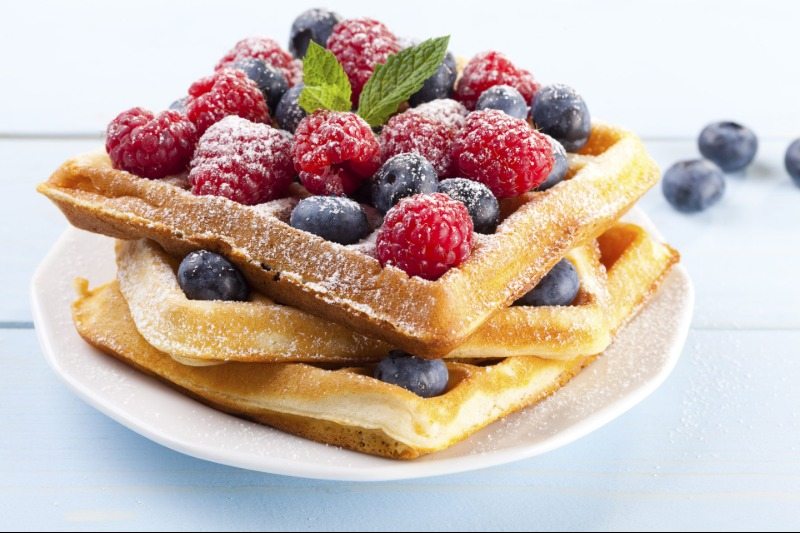 Waffles with Extras Image