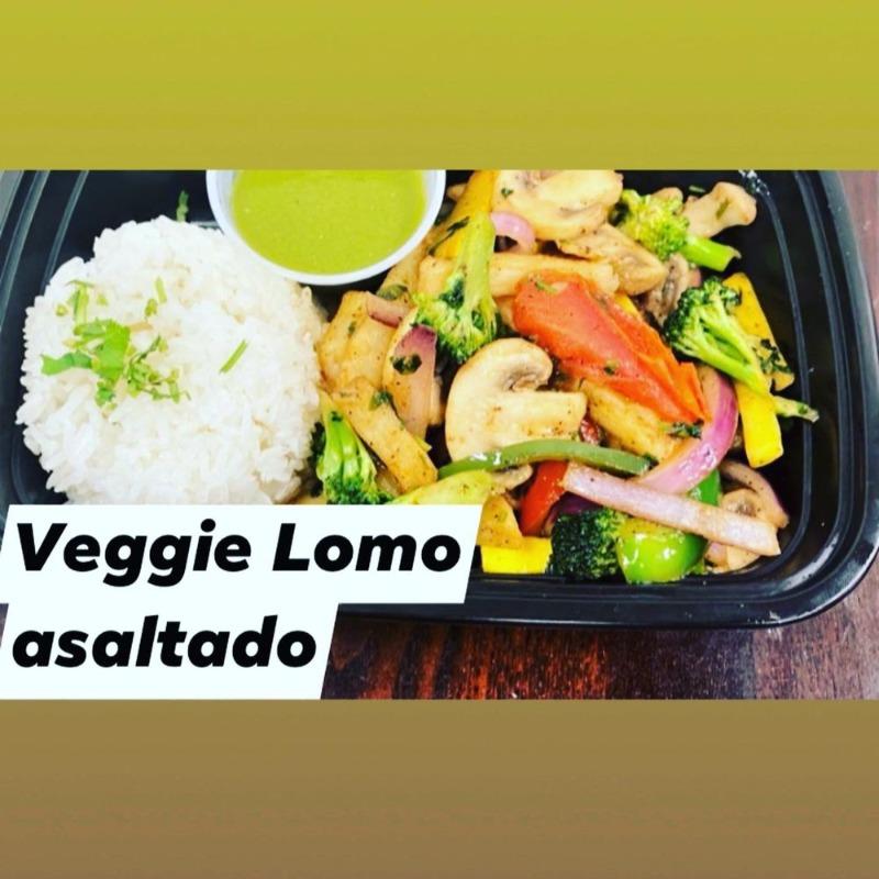 Vegetarian Lomo Saltado Image