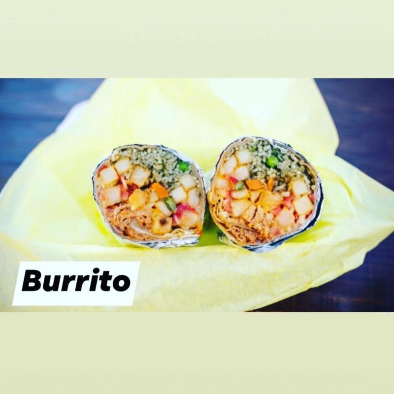 Chicken Adobo Burrito Image