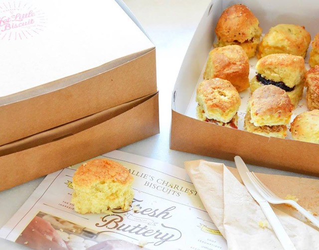 Assorted Dozen of Hot Little Biscuits Image