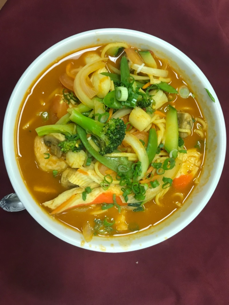 House Special Noodles Soup Image