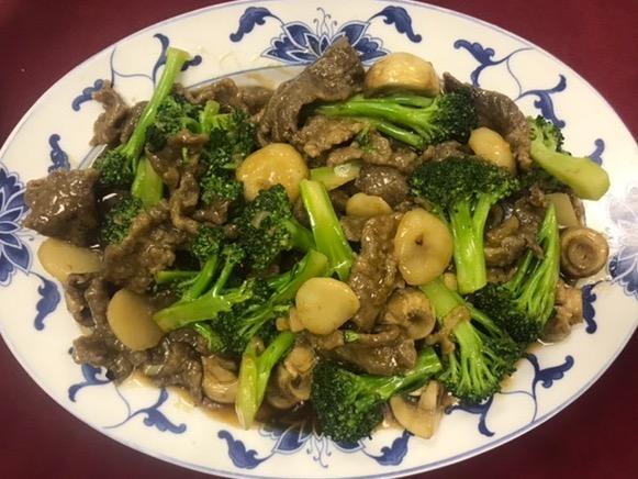 Beef with Fresh Broccoli Image