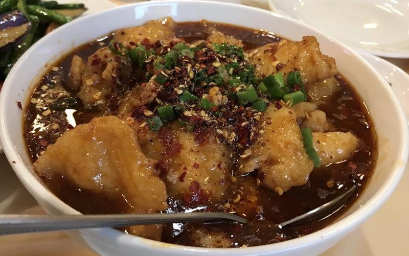 62. Fish Filet in Hot Chili Oil 水煮鱼片 Image
