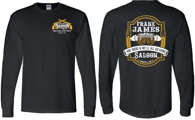 T-Shirt (Long Sleeve): One More... Image