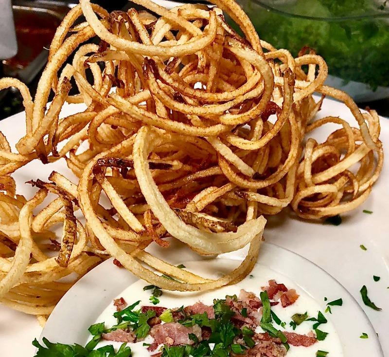 Fresh Angel Hair Potato Fries Image