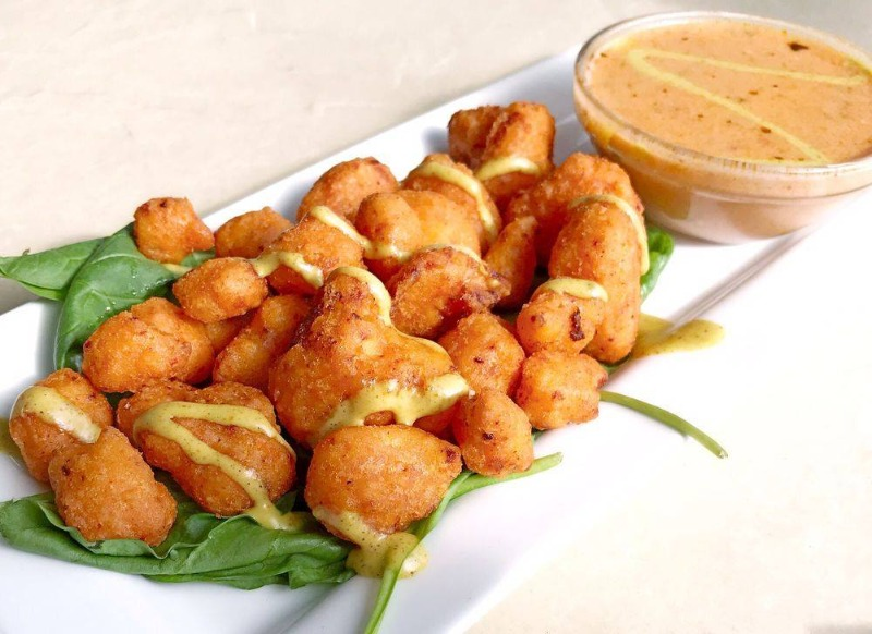 Fried Spicy Cauliflower