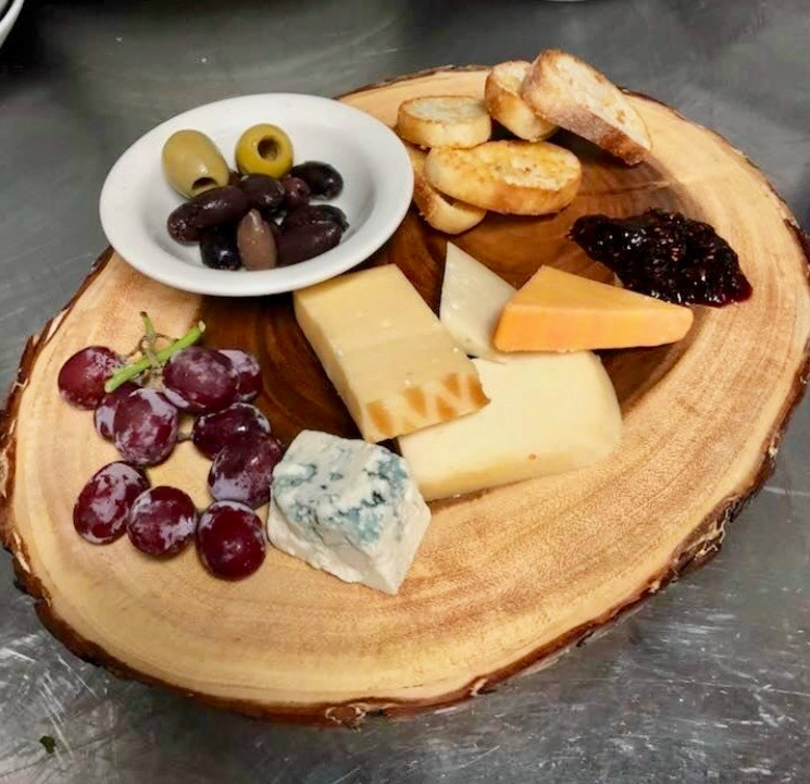 Assorted Cheese Tray Image