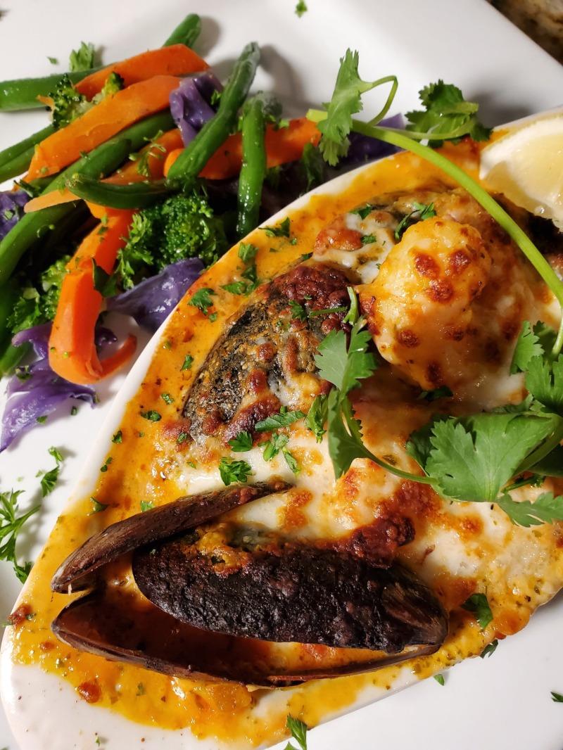 Seafood Bake Image