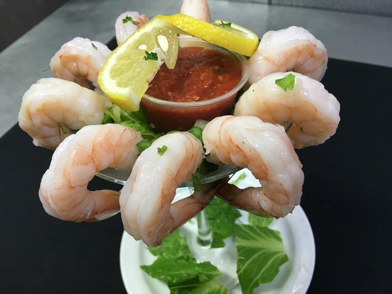 Shrimp Cocktail Martini Image