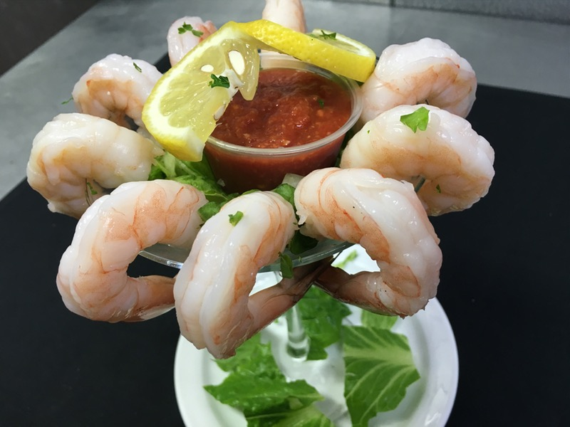 Shrimp Cocktail Martini Image