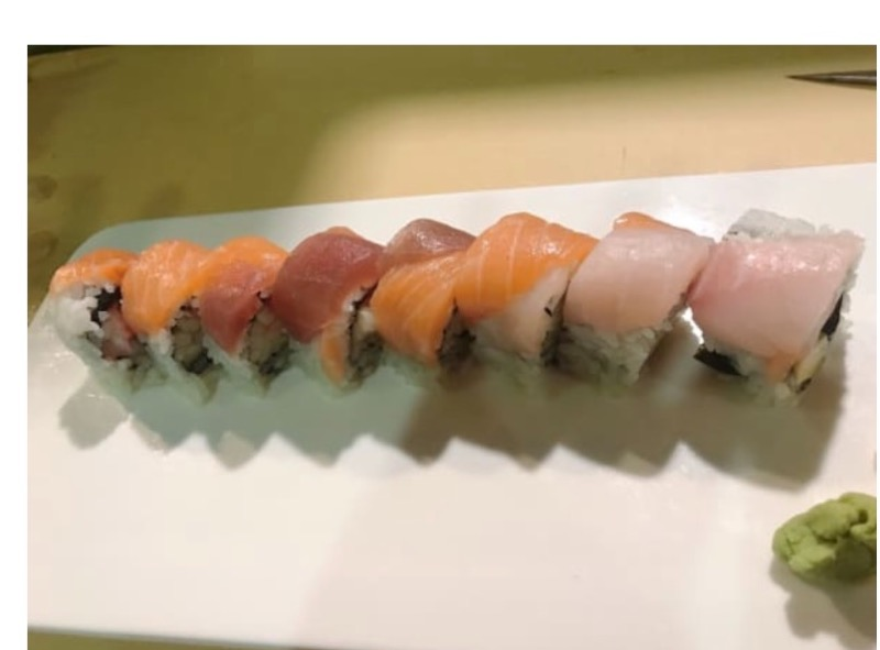 6. Rainbow Roll