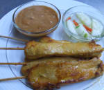 Chicken Satay (4 Pcs)
