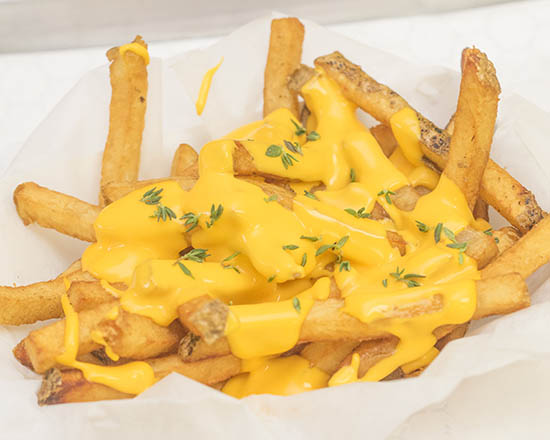 Fries and Sides (have you tried our garlic butter cheese fries?)