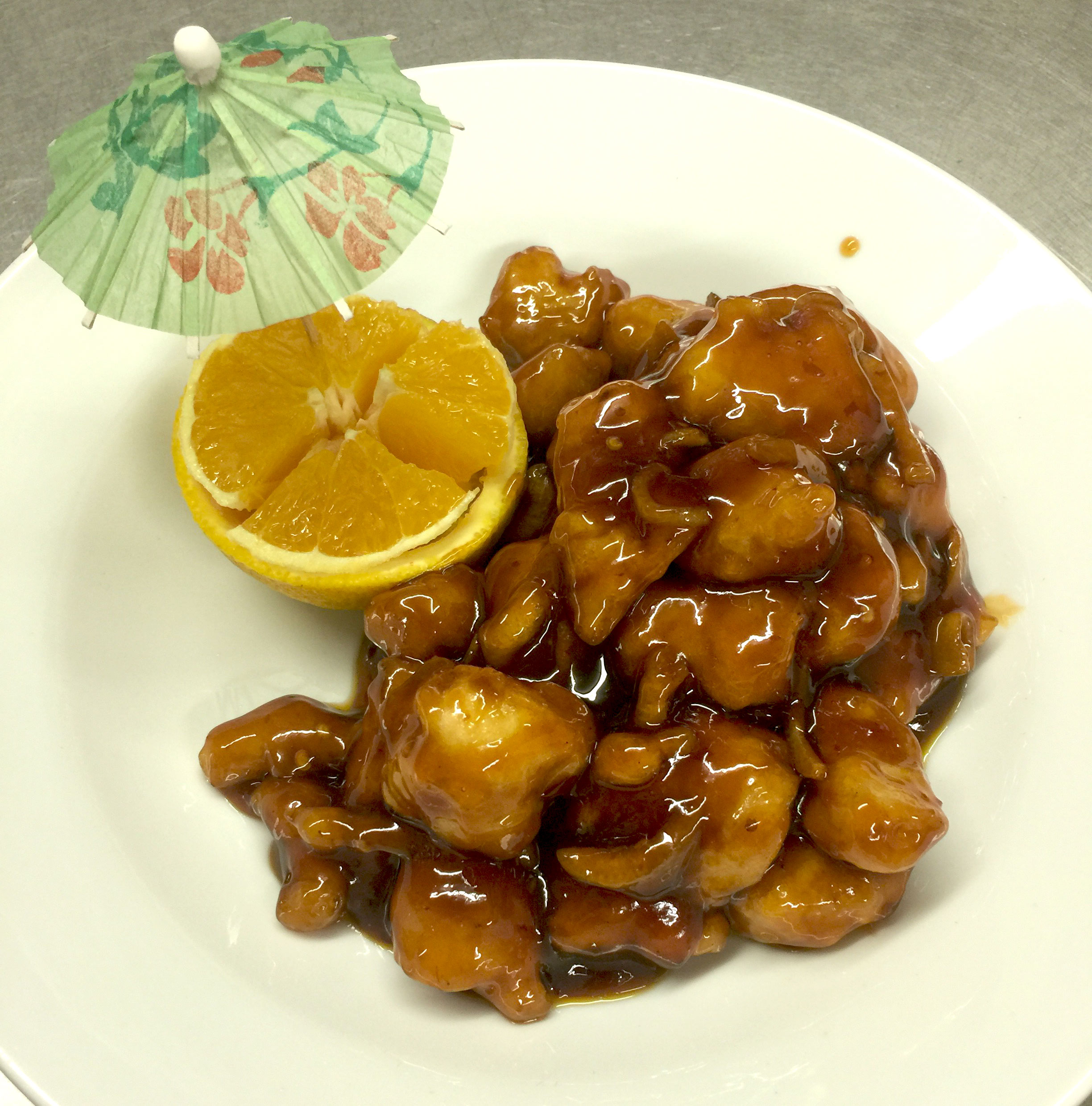158. Orange Peel Chicken Image
