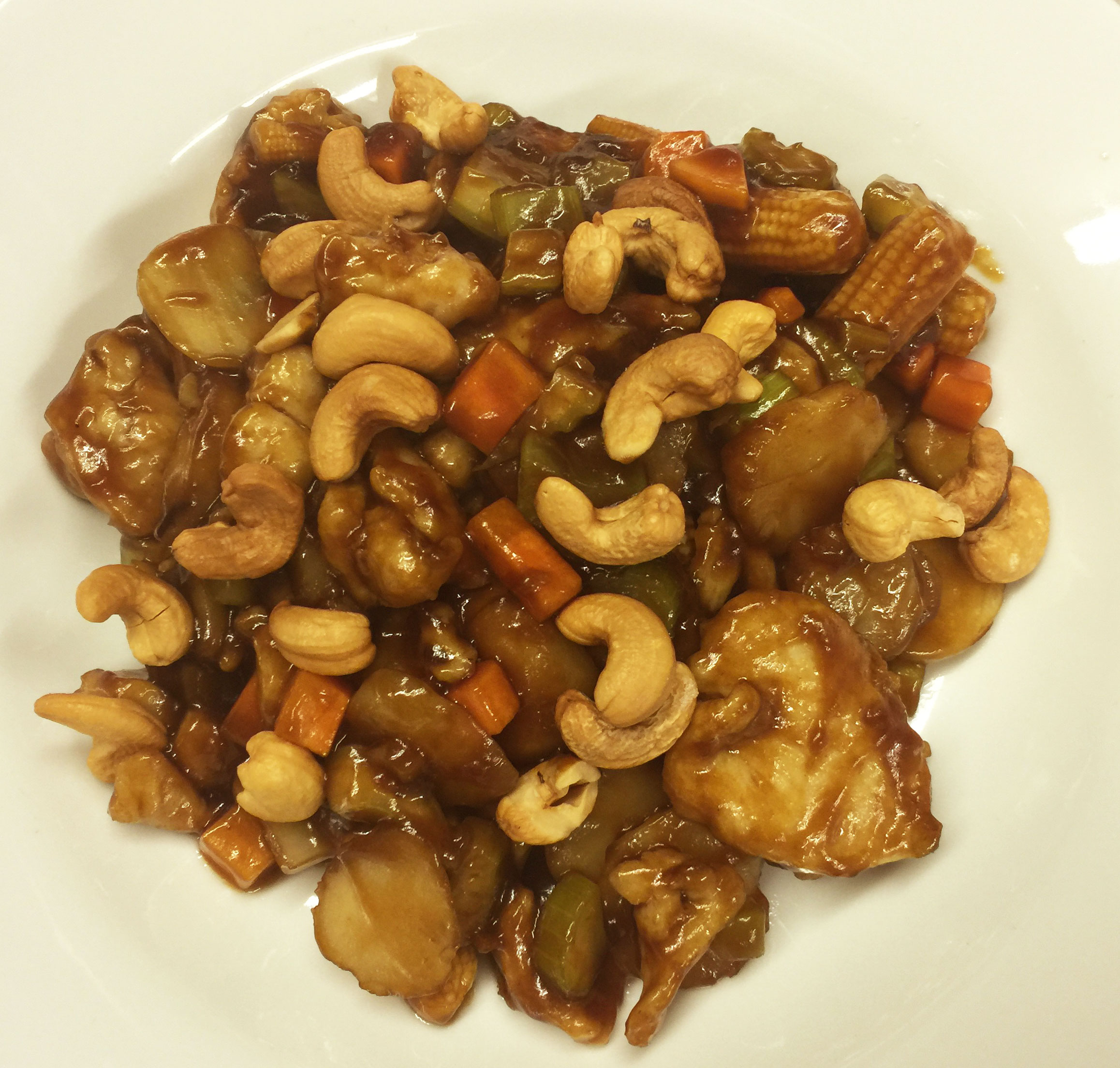 82. Chicken with Cashew Nuts Image