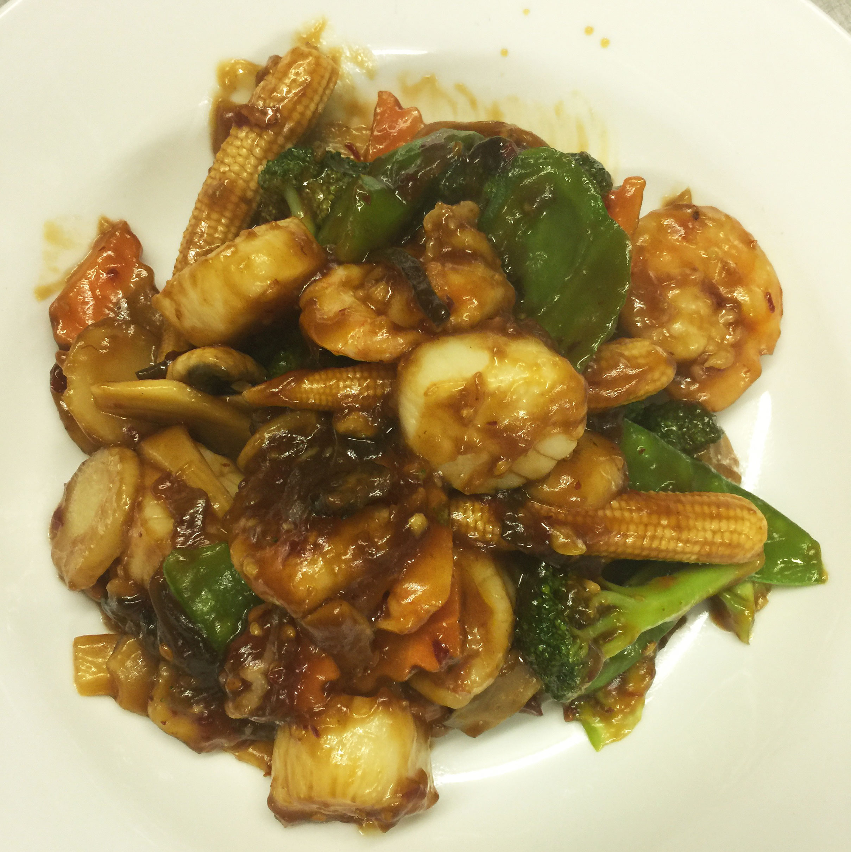 171. Scallop and Shrimp w. Garlic Sauce Image