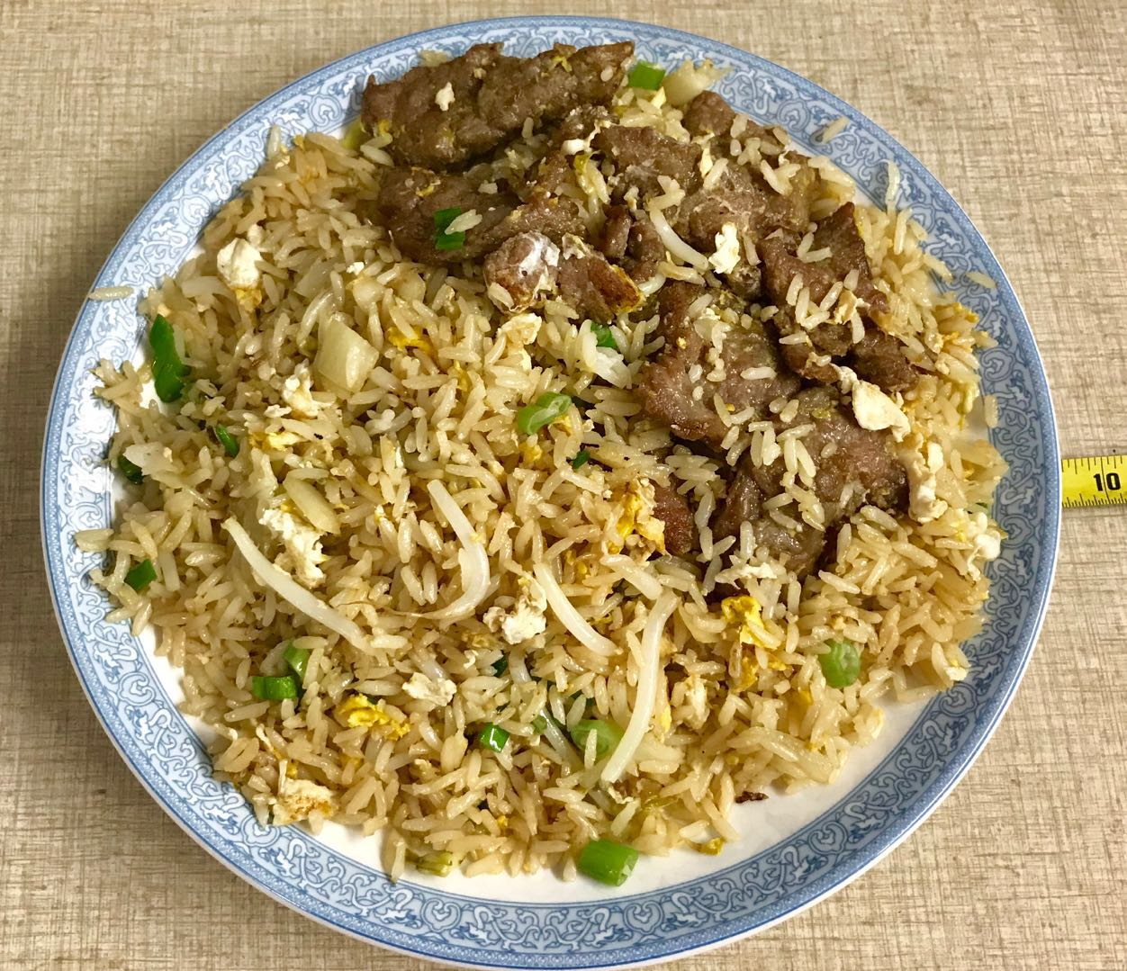208. Beef Fried Rice