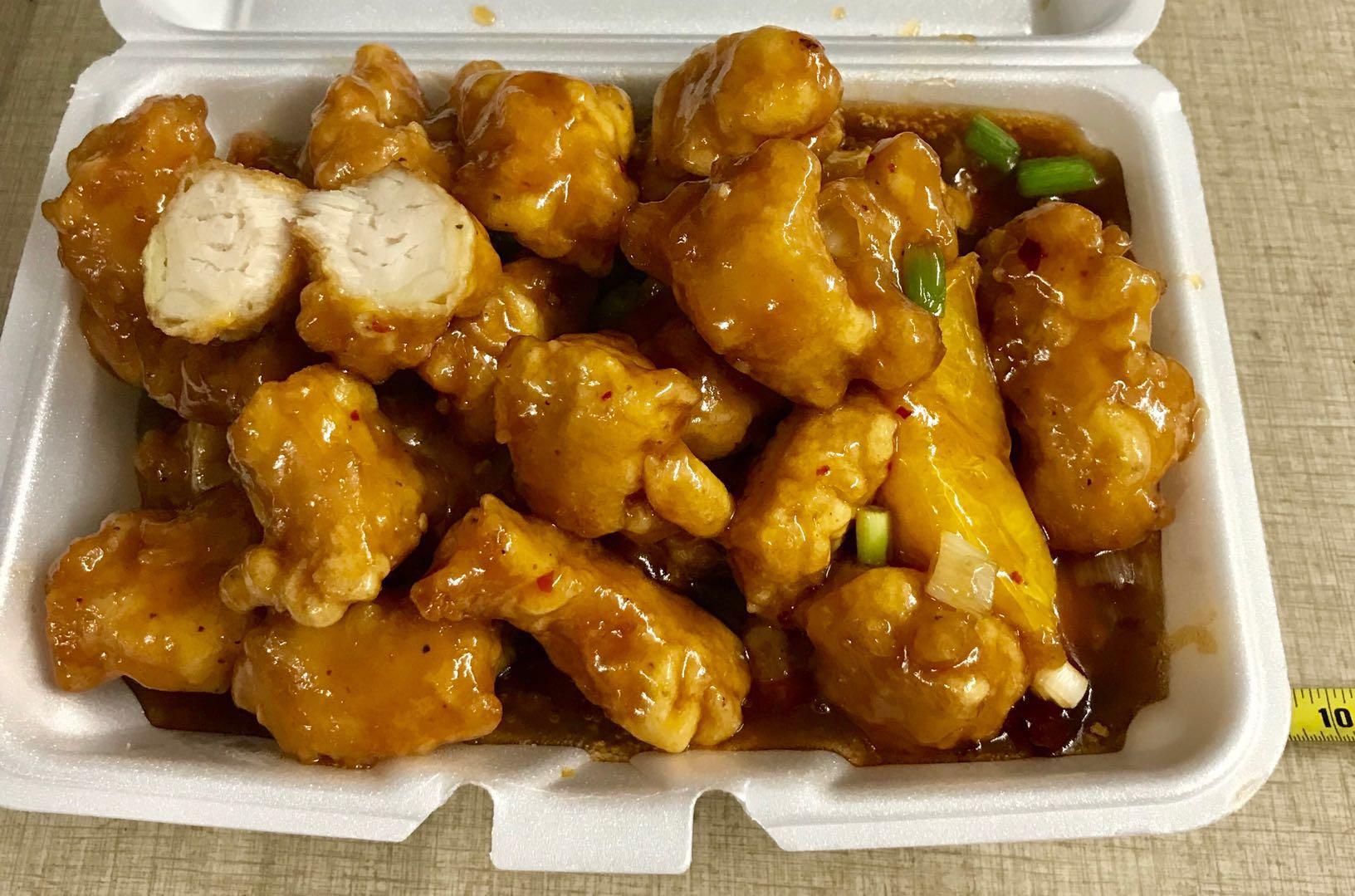 160. Orange Chicken