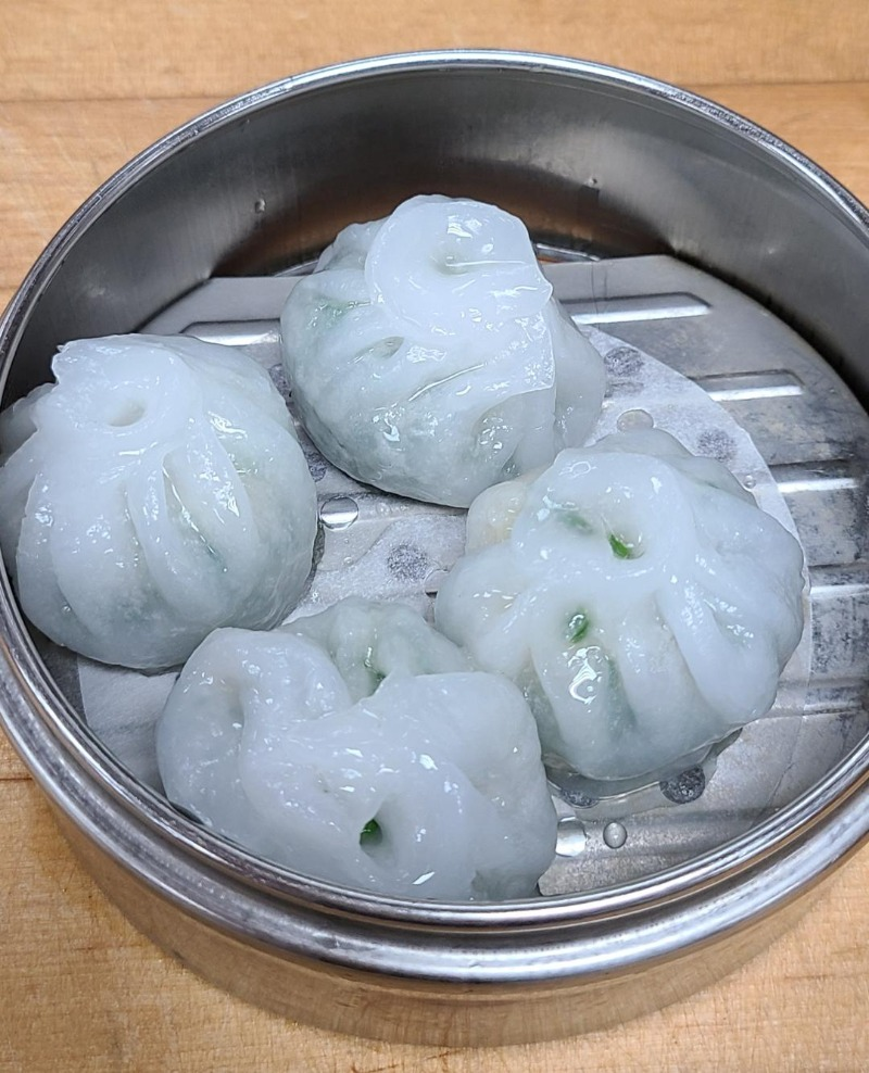 2. Steamed Bloom of Chives Dumpling (4) Image